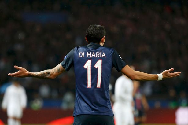 angel di maria says psg were 10 times