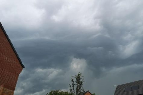 Storm clouds forming