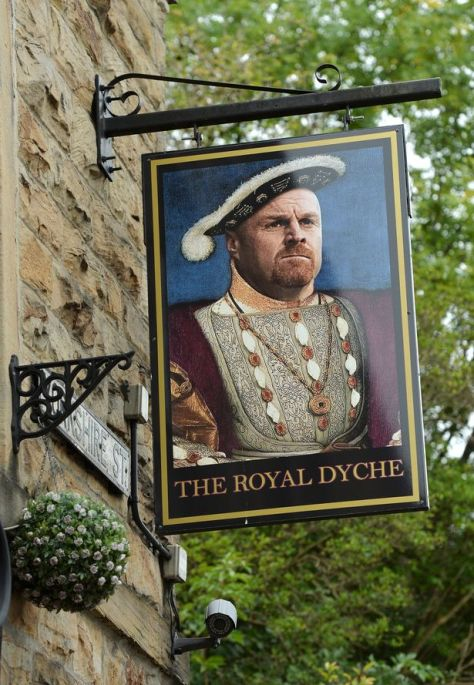 The Royal Dyche, Burnley, a solid choice.
