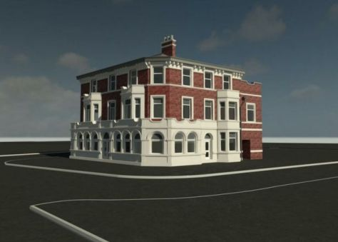 The Hop Inn's external features will be retained as part of wider plans to transform it into a dental surgery