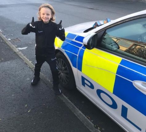 """""""Blackpool Team 3 have done some investigation work and managed to track down who has been leaving sweet treats on our vehicles"""""""