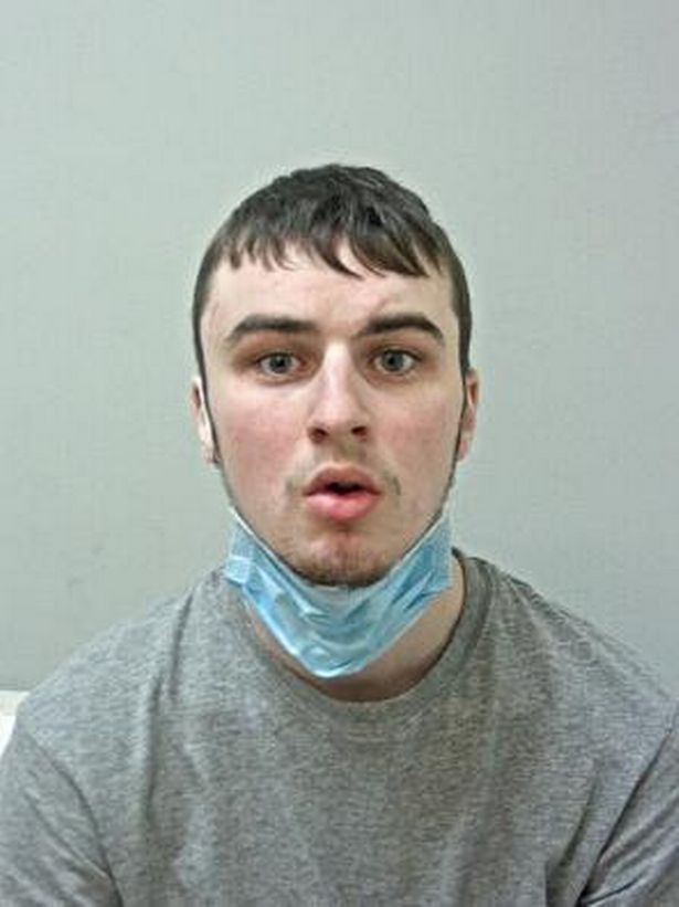 Aiden Moore, 23, pleaded guilty to attempted rape, sexual assault and trespassing