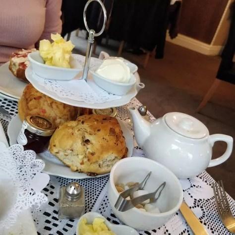 Bon Bon's Penwortham serves delicious afternoon tea