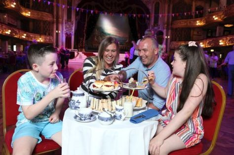 The whole family can enjoy afternoon tea in style