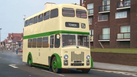 Blackpool's sole surviving No. 346 last carried passengers in 1974