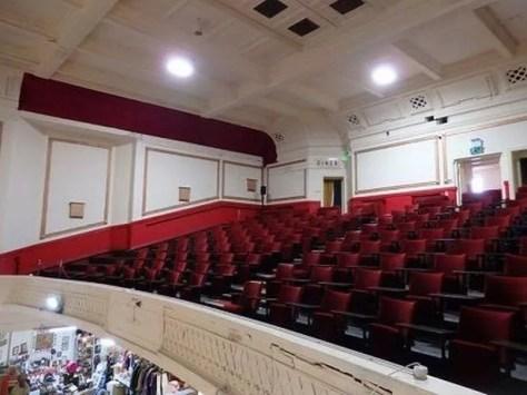 Inside the Regent Cinema in Blackpool