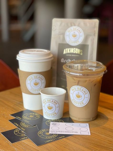 Atkinsons Archetype Espresso blend served at WG Bean's coffee shop in Blackpool Pleasure Beach