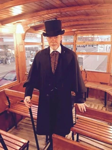 Victorian Ghost Hunter Stephen Mercer