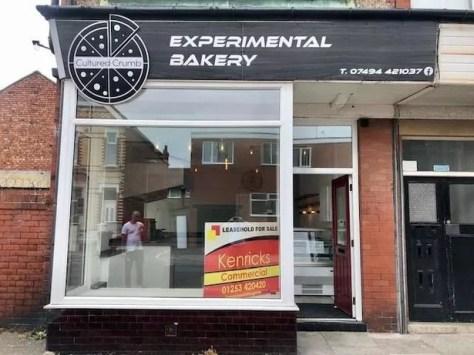 Experimental Bakery on Mayfield Avenue, Blackpool