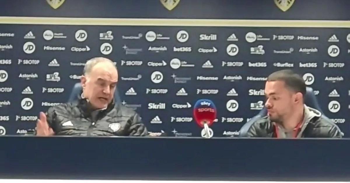 Every word Marcelo Bielsa said on Liverpool draw and his emotive European Super League response - Leeds Live
