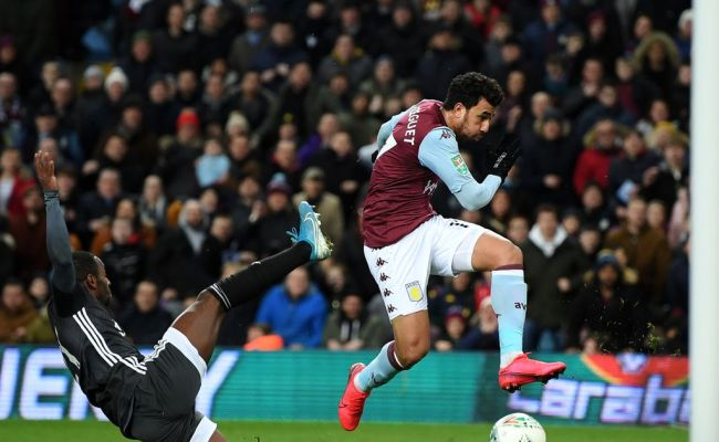Aston Villa 2 1 Leicester City Live Match Report And