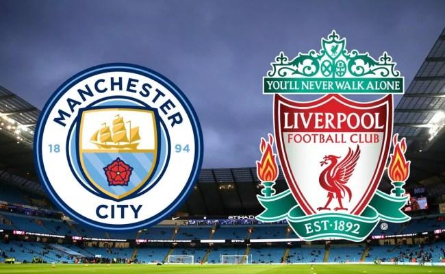 Manchester City Vs Liverpool Live Mane Sent Off As