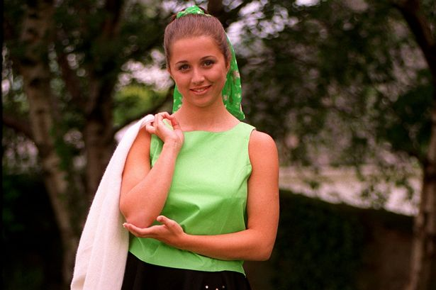 Faye Dempsey when she was 15 and won Stars In Your Eyes for her take of Olivia Newton John
