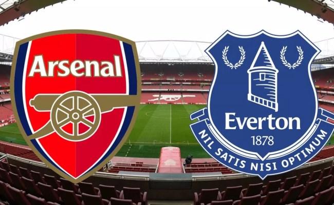 Arsenal Vs Everton As It Happened Battling Blues Beaten