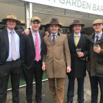 Men Rock Peaky Blinders Style Clothing At Day One Of Grand National Festival Liverpool Echo
