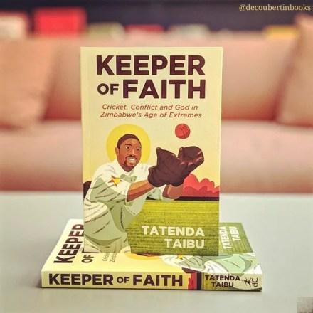 Tatenda Taibu's autobiography, Keeper of Faith.
