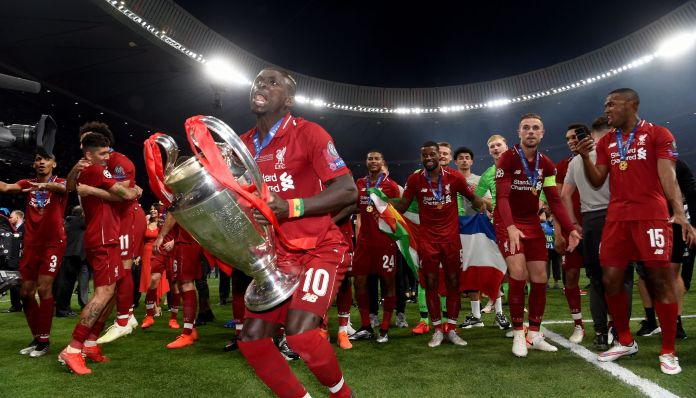 Just loads of pictures of Liverpool players with the Champions League trophy - Liverpool Echo