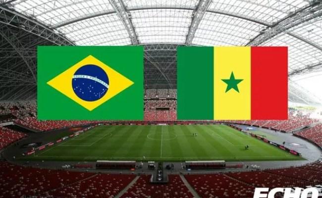 Brazil V Senegal As It Happened Roberto Firmino And