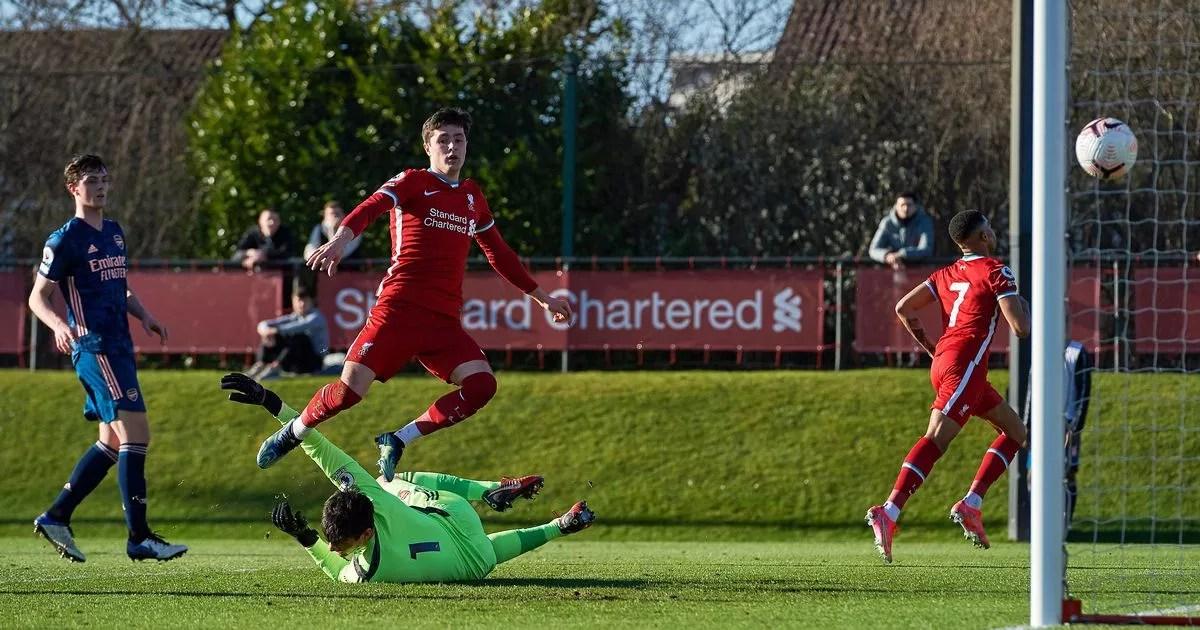 'Remember the name' - Liverpool fans praise Layton Stewart ...