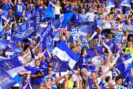 How Everton FC fans booming out Z Cars at Wembley let ...
