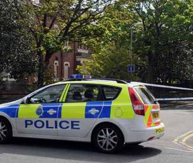 Police Corden Off Abbotsford Road Near Blundellsands Train Station Following Reports Of Gunshots Fired