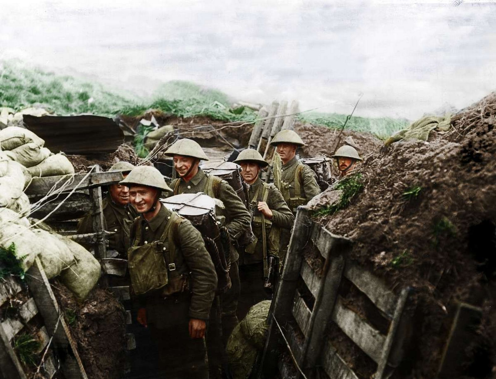 In Pictures World War One In Colour