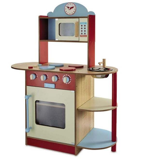 kids wooden kitchen decor theme ideas aldi s could be the cheapest yet and you can promoted stories