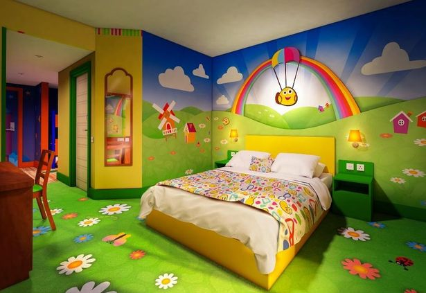 Alton Towers Unveils Character Themed Rooms Inside Cbeebies Land Hotel And They Re Something Special Manchester Evening News