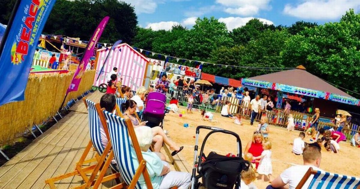 A giant beach is coming to Heaton Park and its FREE