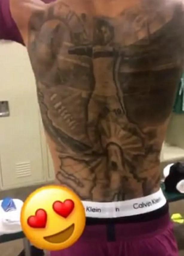 Sane Tattoo : tattoo, Story, Behind, Leroy, Sane's, Tattoo, Manchester, Evening