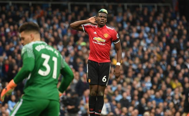 Man City Vs Manchester United Highlights And Score Paul