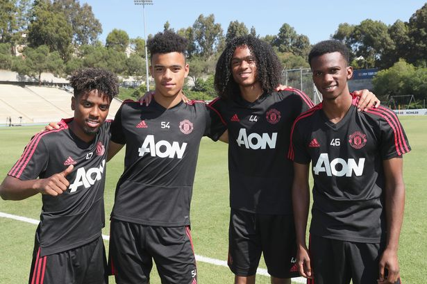 Image result for solskjaer Tahith Chong 2019 getty