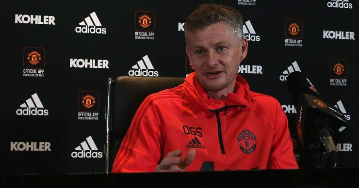 Image result for solskjaer press conference brilliant! solskjaer reveals plan ahead of second leg against barcelona BRILLIANT! SOLSKJAER REVEALS PLAN AHEAD OF SECOND LEG AGAINST BARCELONA 1 GettyImages 1075337678