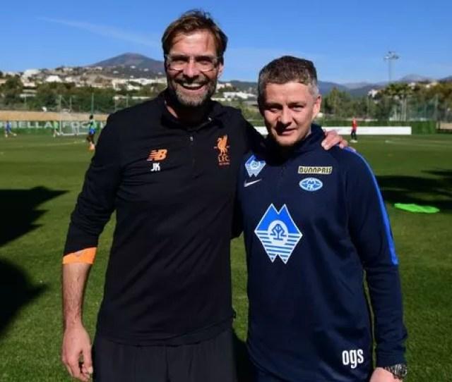 Klopp And Solskjaer Pose In Marbella Last Year