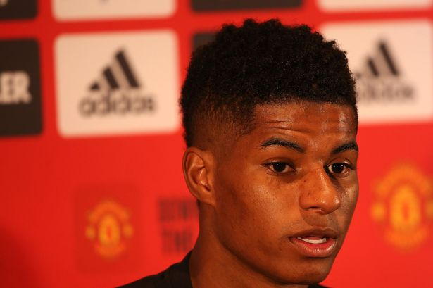 0 GettyImages 1161111692 - Manchester United forward Marcus Rashford asked about Jesse Lingard holiday video