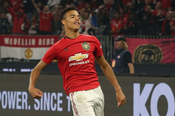 0 GettyImages 1162540068 - 12 Manchester United players comment on Mason Greenwood's Instagram post after striker scores first senior goal