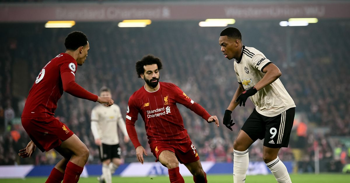 Liverpool FC vs Manchester United LIVE and goal updates like Juan Mata and Mason Greenwood on