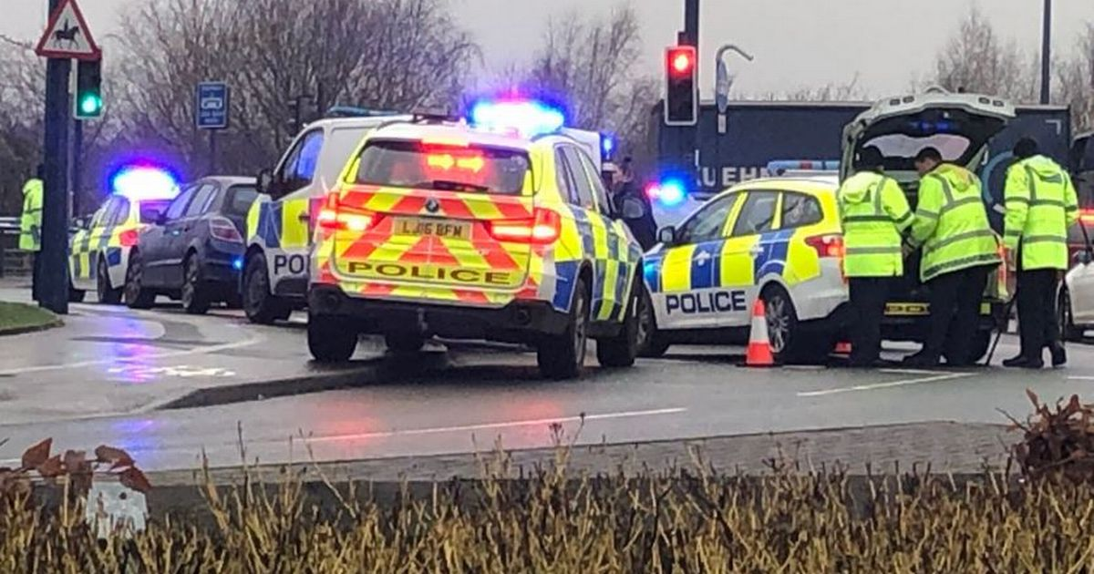 Elderly man struggling for life after being hit by a car on Lord Sheldon Way in Ashton-under-Lyne