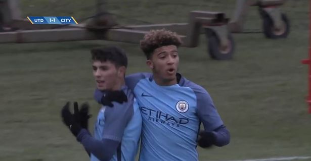 Sancho celebrates with Diaz