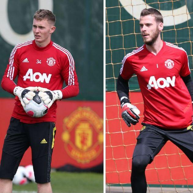 Manchester United hint at goalkeeping plan for Dean Henderson and David de Gea - Manchester Evening News