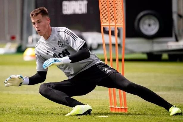Vitek is the last goalkeeper in Eastern Europe to join United's youth ranks