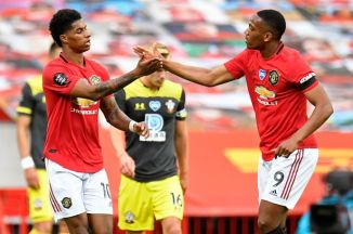 Marcus Rashford sends message to Anthony Martial over Manchester United top scorer race
