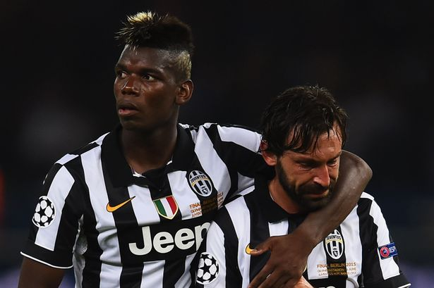 Juventus manager Andrea Pirlo urged to sign Manchester United star ...