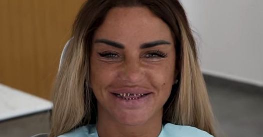 Katie Price shares 'scary' video of her teeth shaved down ...