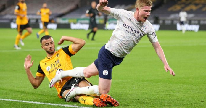 Wolves vs Man City LIVE score and goal updates with goals from Kevin De Bruyne and Phil Foden - Manchester Evening News