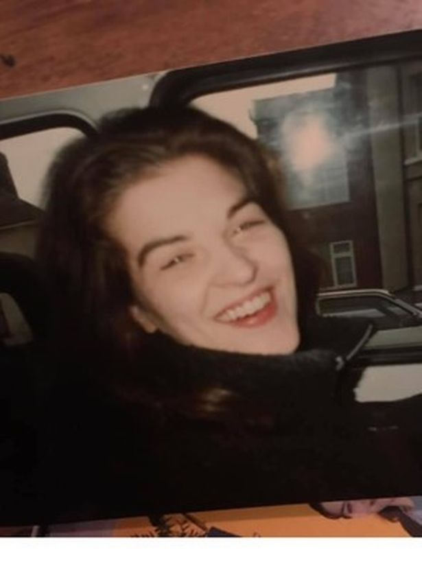 Becky in 2001