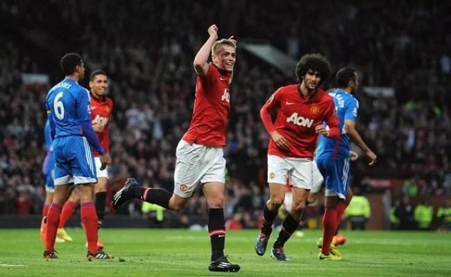 Manchester United 3 Hull 1 Debutant Wilson Scores Twice