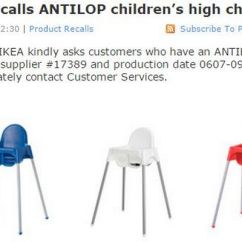 High Chair Recall Eames Sale Ikea Manchester Evening News