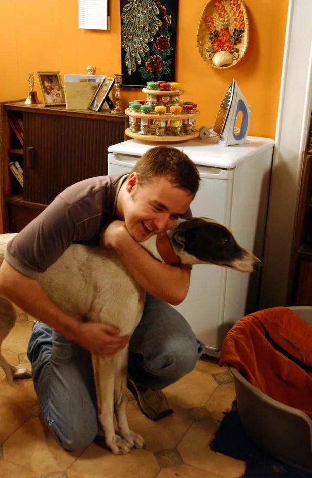 Monica Tyrone was Doob's beloved greyhound