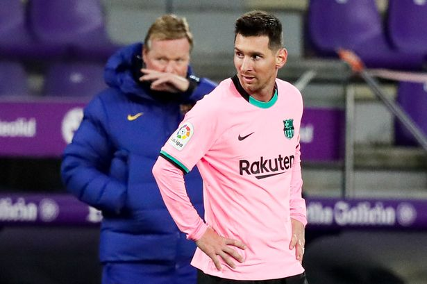 Ronald Koeman makes Barcelona transfer admission about Lionel Messi amid  Man City interest - Manchester Evening News